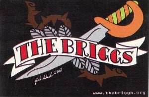 Image of Briggs Sword Sticker