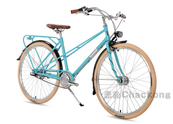 "Image of DARKROCK Bicycle Virgin18 Women City bike 26"""
