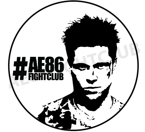 Image of Durden Fightclub Sticker