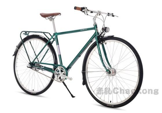 Image of DARKROCK BICYCLE GENTLE MEN CITY BIKE 700c