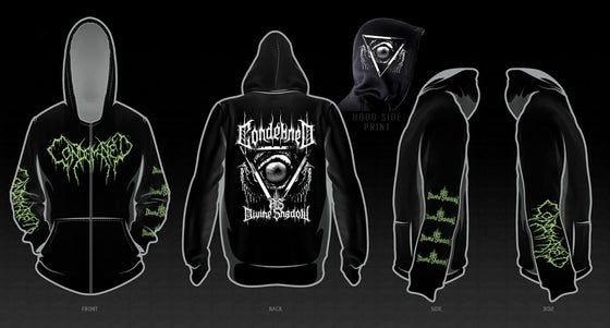Image of Condemned Zip Hoodies