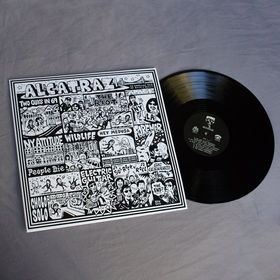 Image of Apache - Alcatraz LP