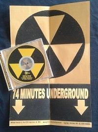 Image of 74 Minutes Underground Compilation CD