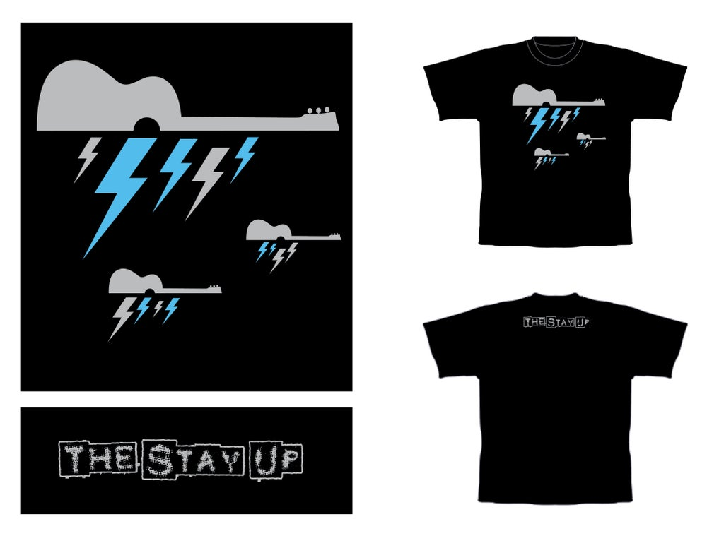 "Image of The Stay Up - ""Bolt"" T-shirt"