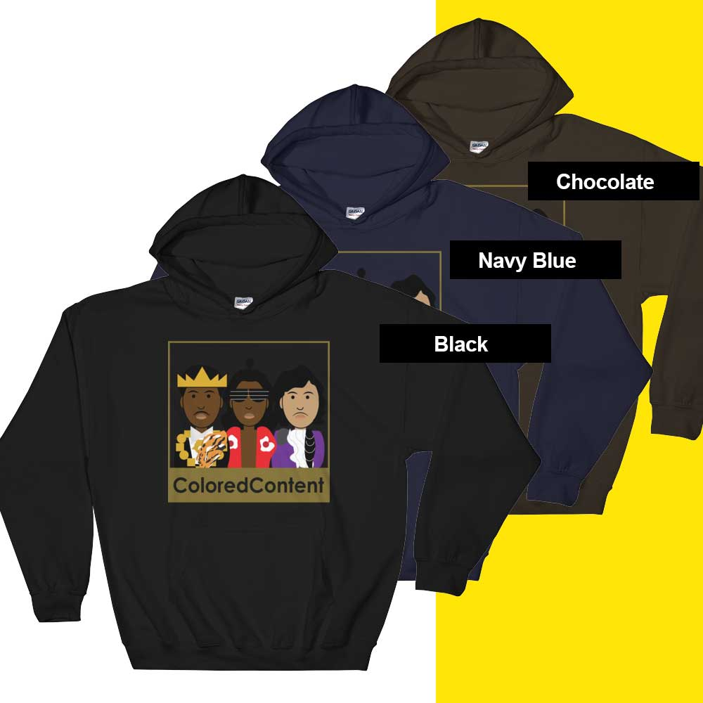 Image of THE GOOD, THE BAD, THE BEAUTIFUL ONE HOODIE [GOLD COLLECTION]
