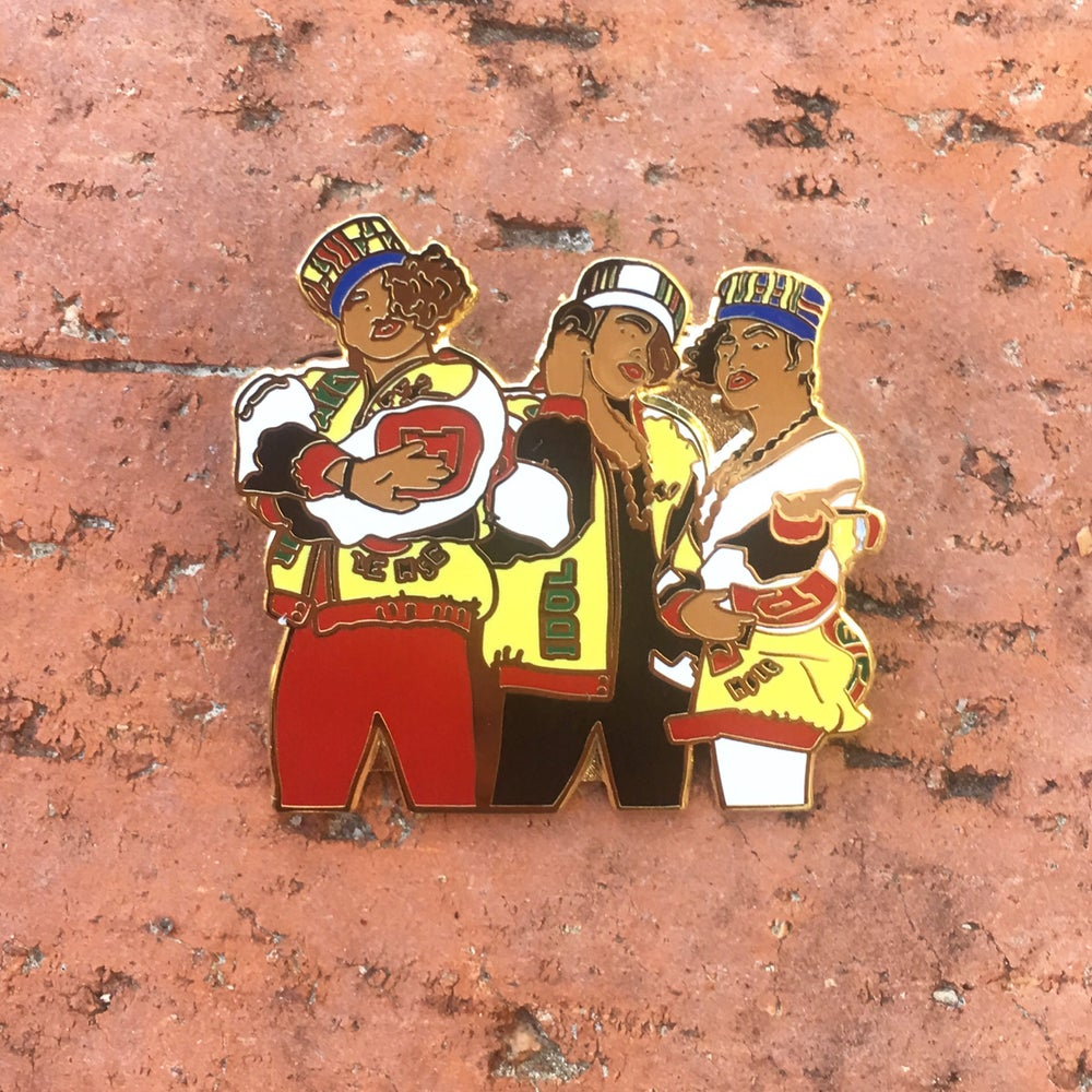Image of Salt-N-Pepa pin