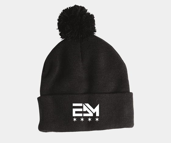 Image of 2017 EDM Chicago Pom Pom Beanie