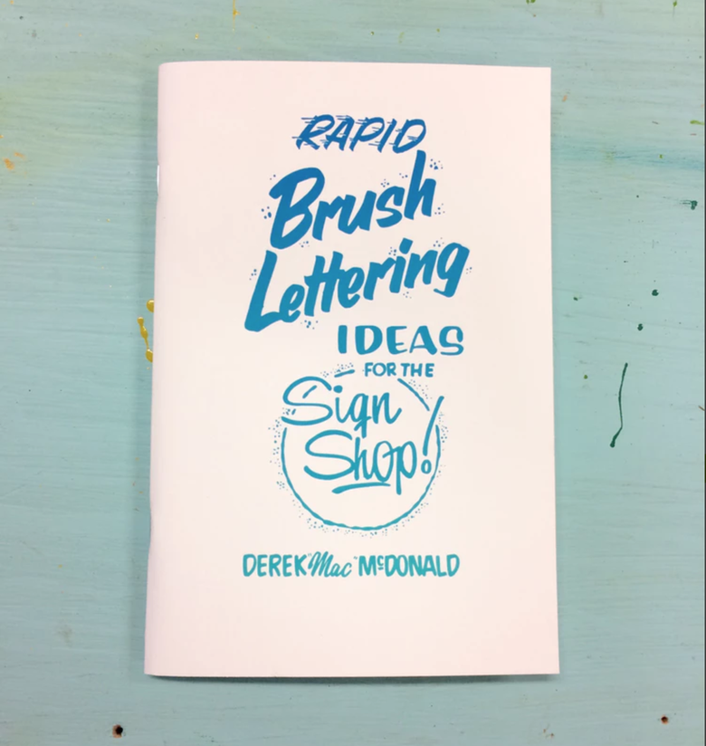 Image of Rapid Brush Lettering Zine