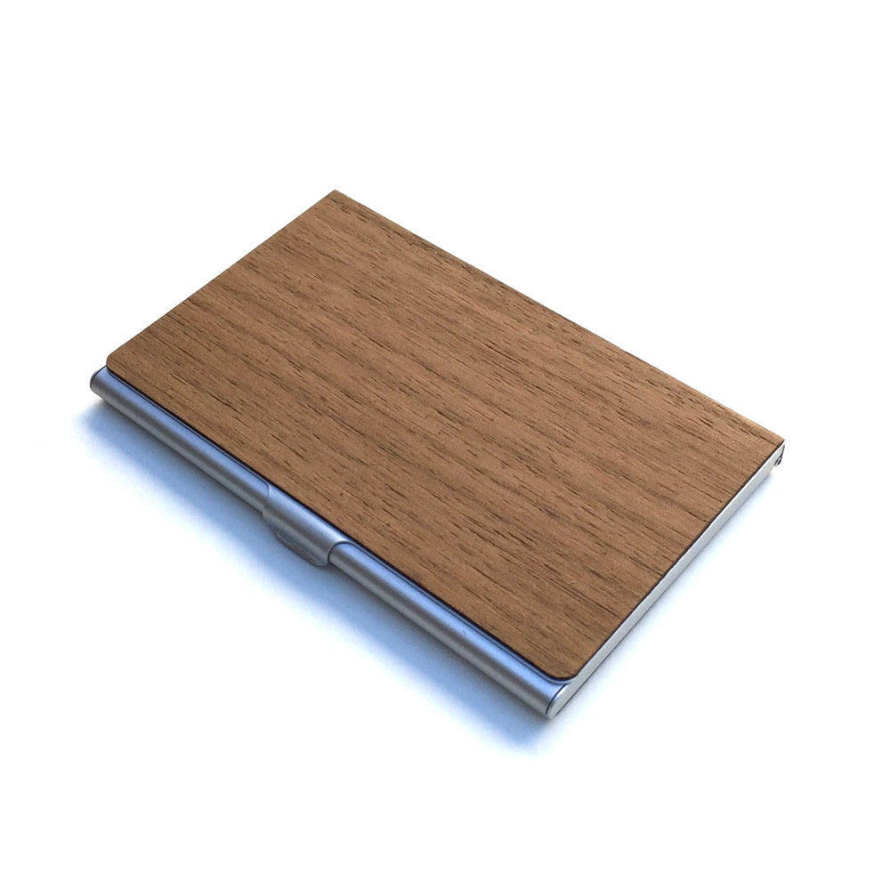 TIMBER Woodskin Business Card Holder - Free Shipping United States ...