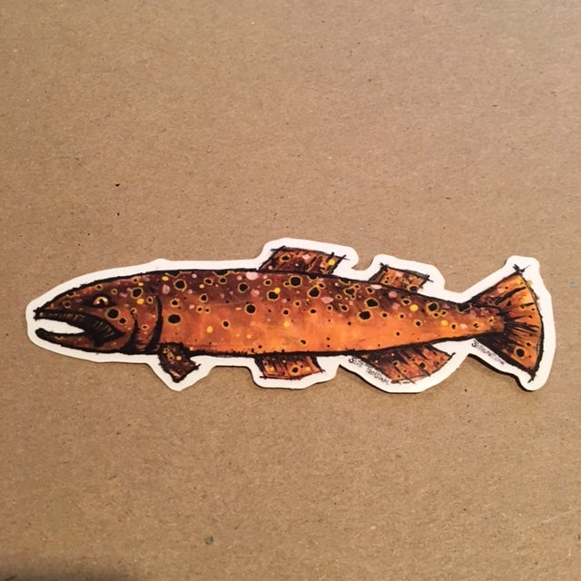 Image of Brown Trout Sticker