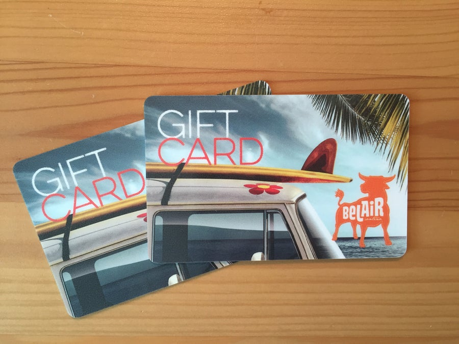 Image of BelAir Gift Cards