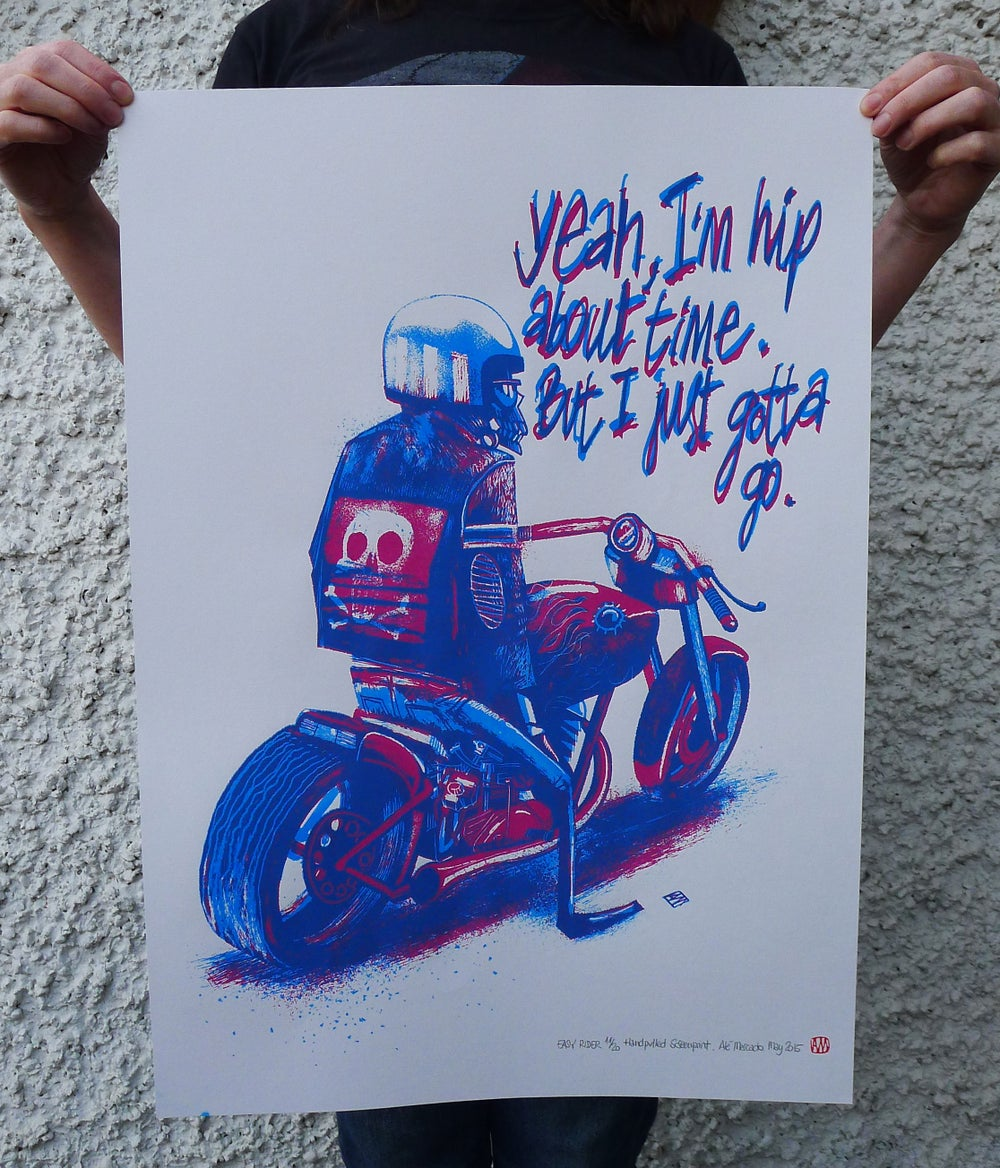 Image of Easy Rider Screenprint
