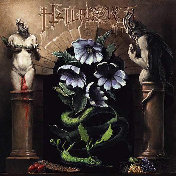Image of FV01: HELLEBORUS 'The Carnal Sabbath' 2LP (Black Vinyl)