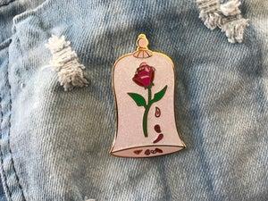 Image of Enchanted Rose (Beauty & the Beast) Enamel Pin