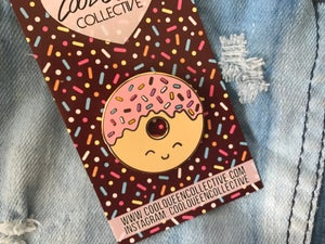 Image of Donut Enamel Pin