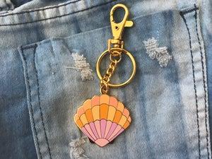 Image of Sunrise Shell Bag Charm