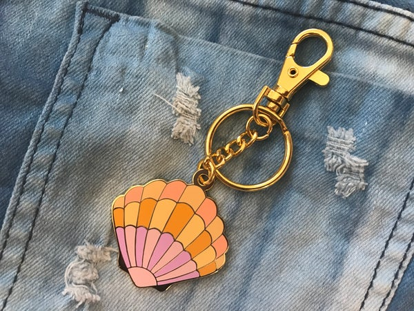 Image of Sunrise Shell Bag Charm