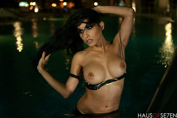 Image of LIMITED 8 x 10 Sexy Pool Print