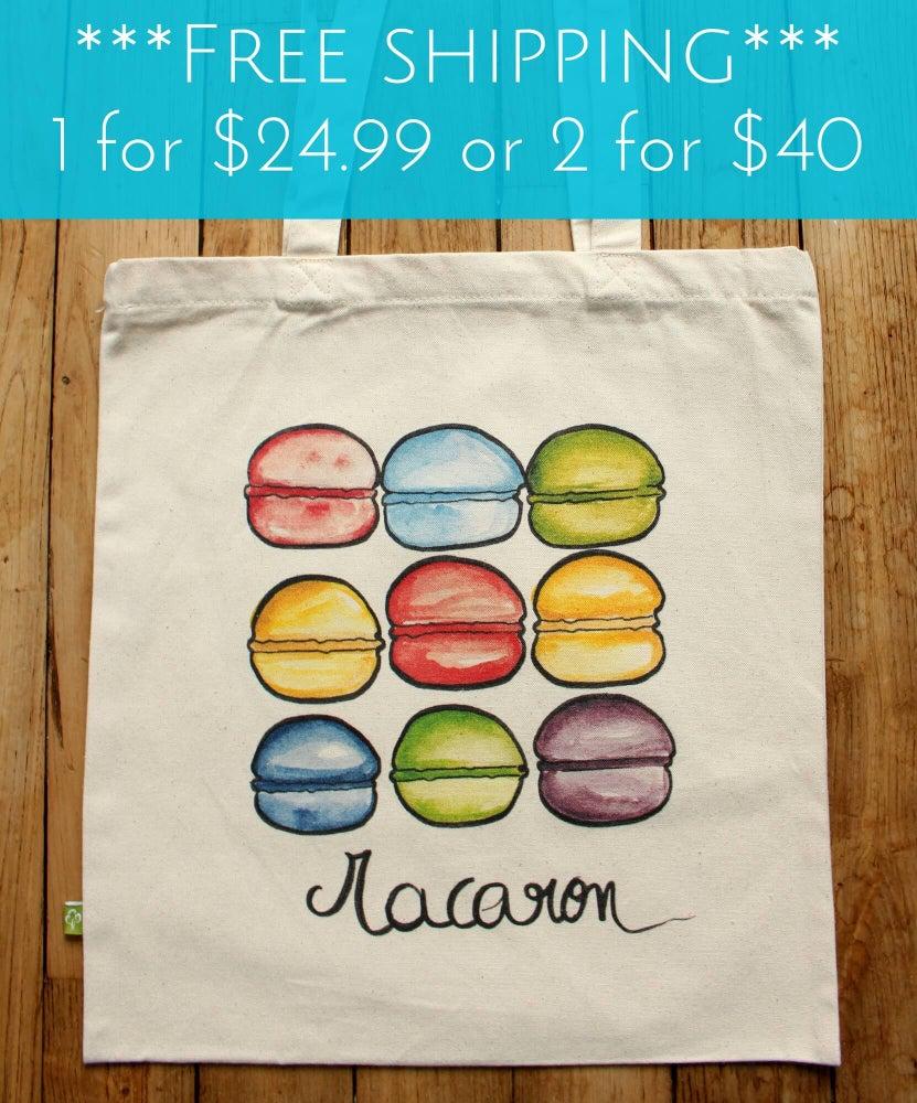 Image of Macaron Madness Tote Bag