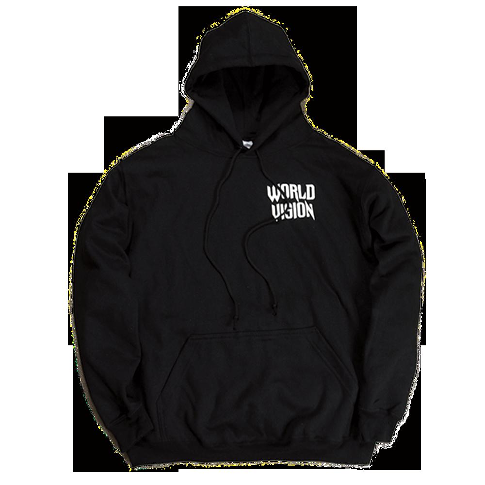 Image of OG 'World Vision' Hoodie Re-Release [Black]