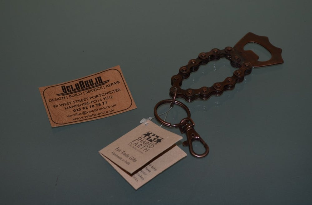 Image of Fair Trade Key Ring Bottle Opener