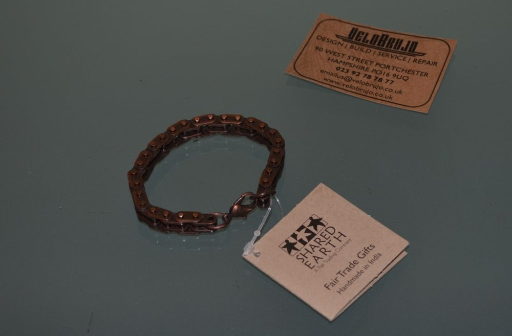 Image of Fair Trade Bicycle Chain Bracelets