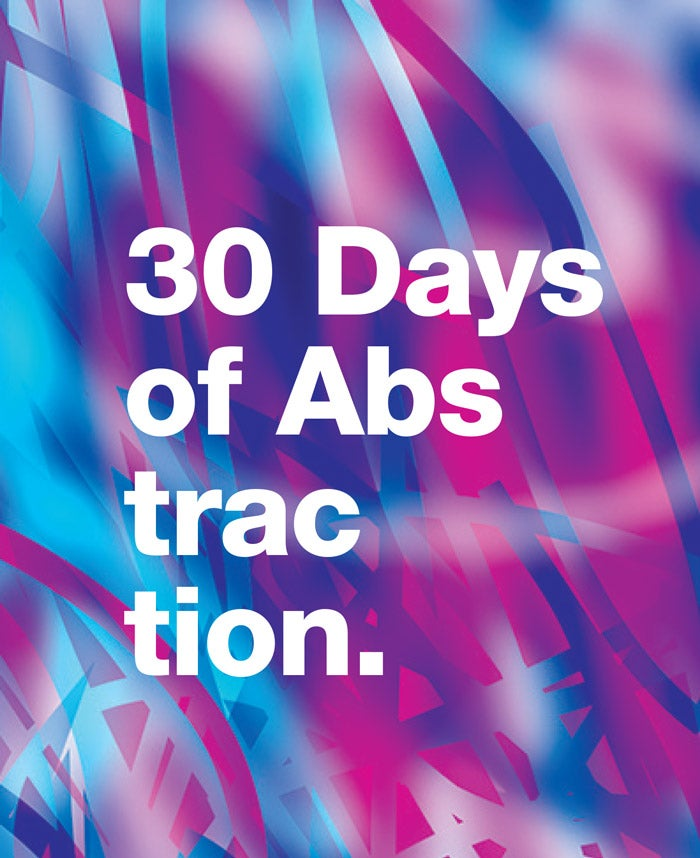 Image of 30 Days of Abstraction Zine