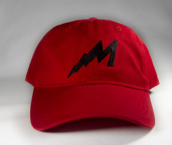 Image of M Lighting Logo Hat (Red)