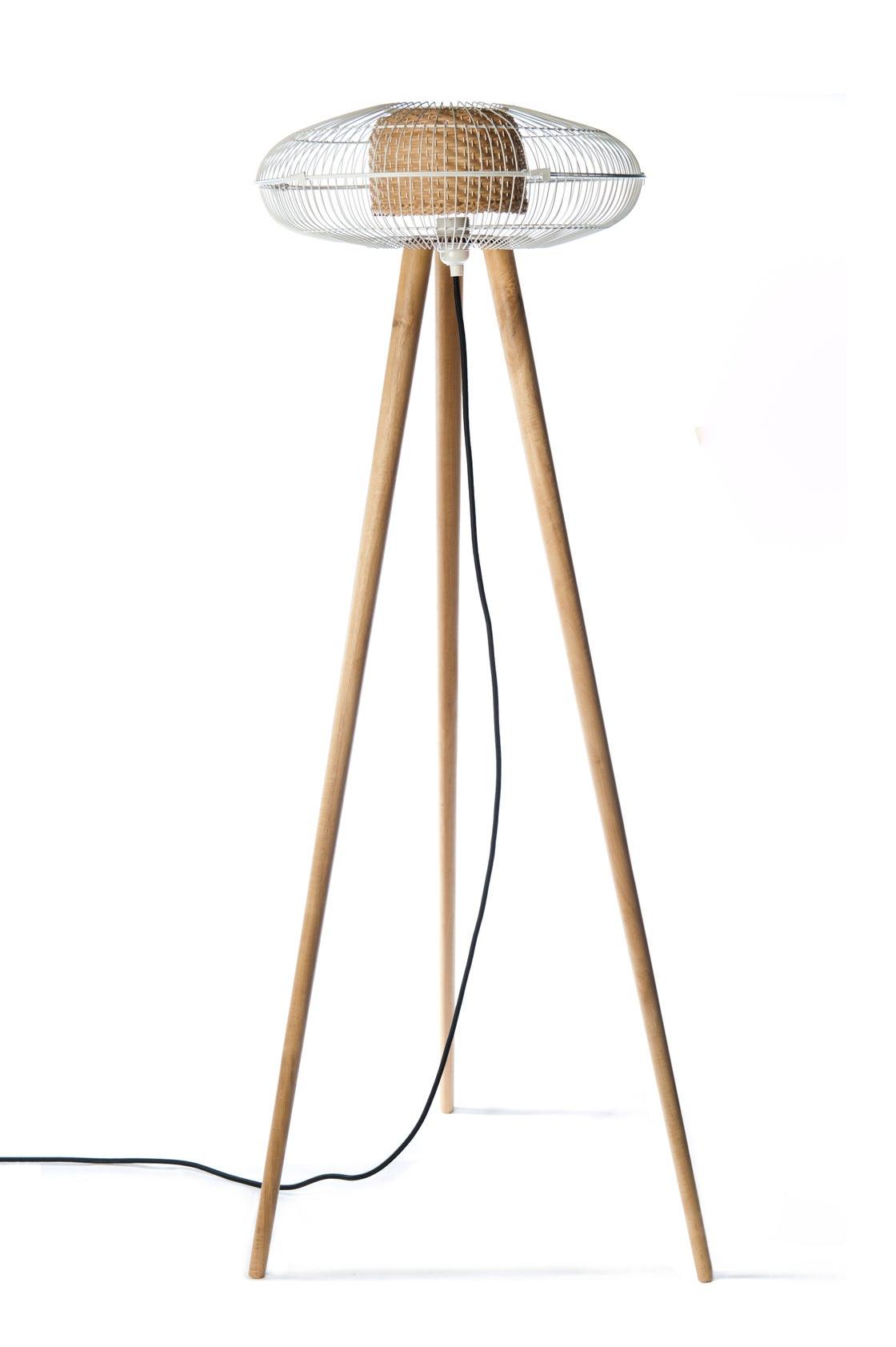 Image of FAN floor lamp~ White