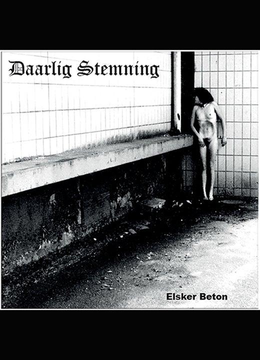 "Image of Daarlig Stemning ""Elsker beton"" vinyl Lp"