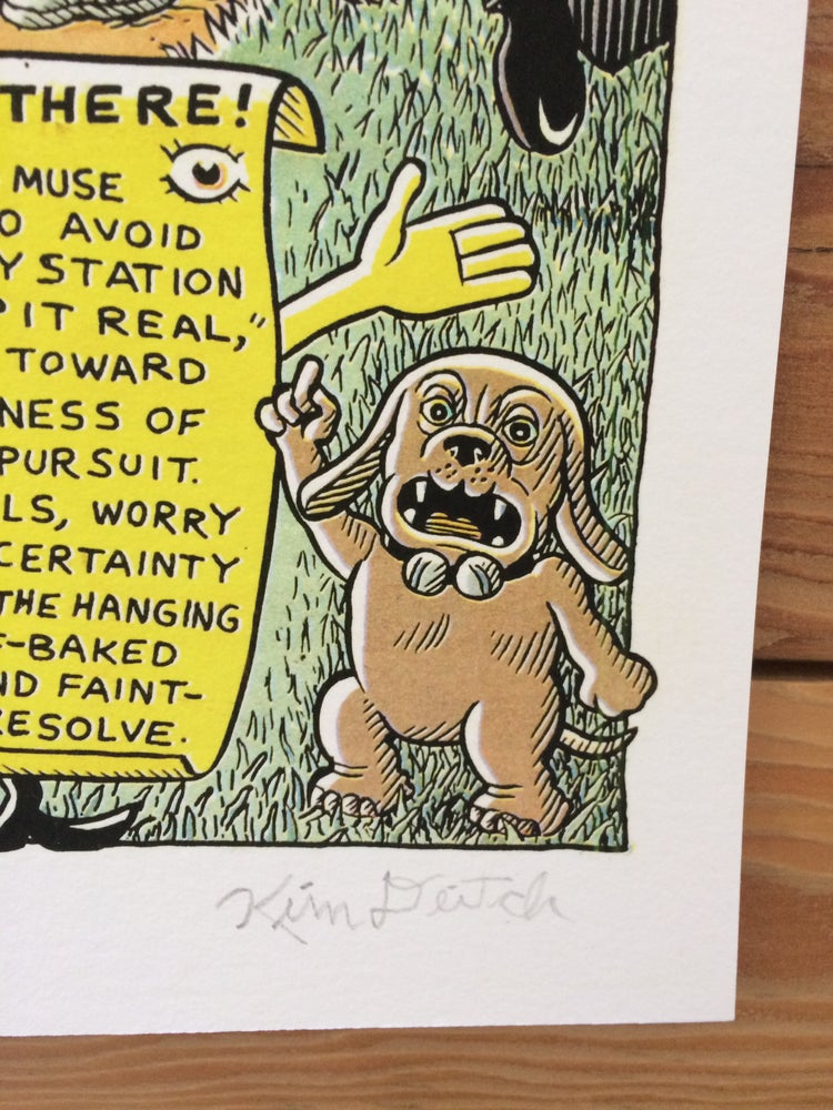 Image of Kim Deitch - The Glowing House Along the Way