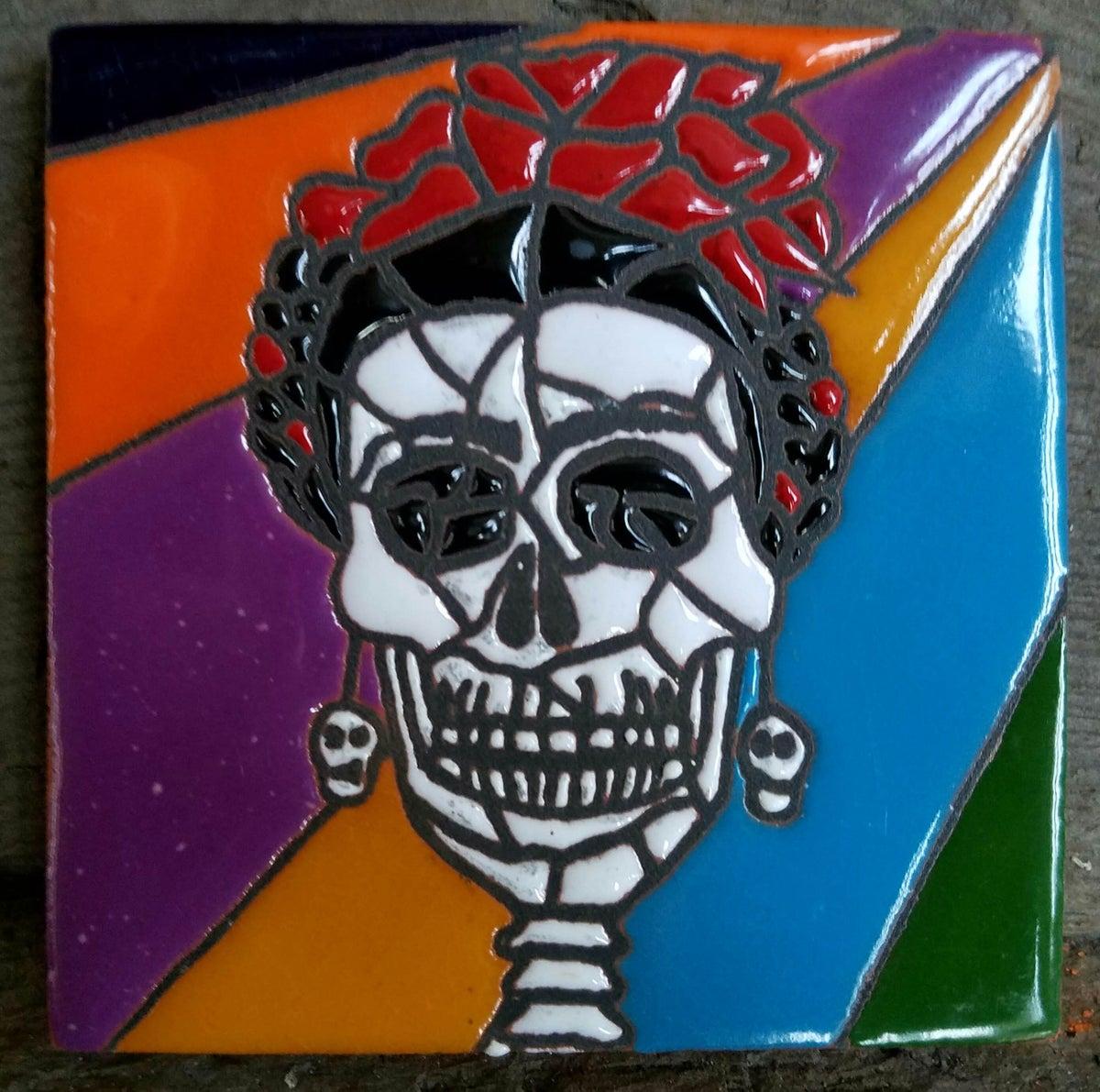 Image of frida muerto mozaic