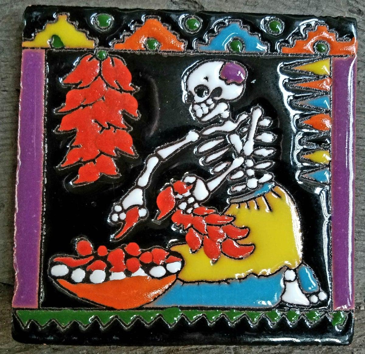 Image of Chili Coaster Tile