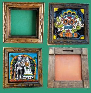 Image of Calavera Cruz Coaster Tile