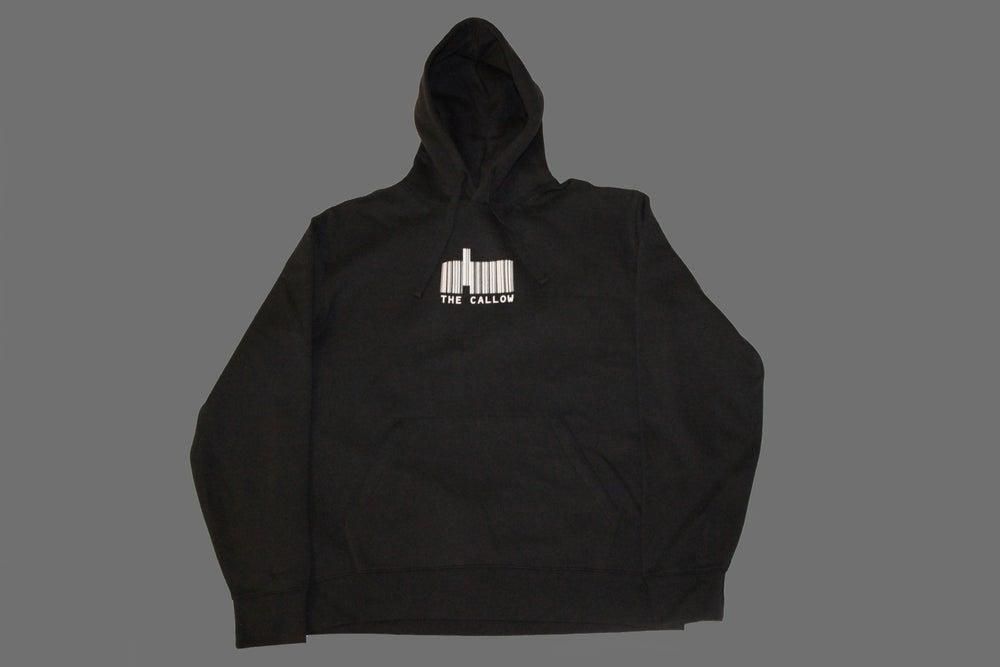 Image of Bar Logo Hoodie Black