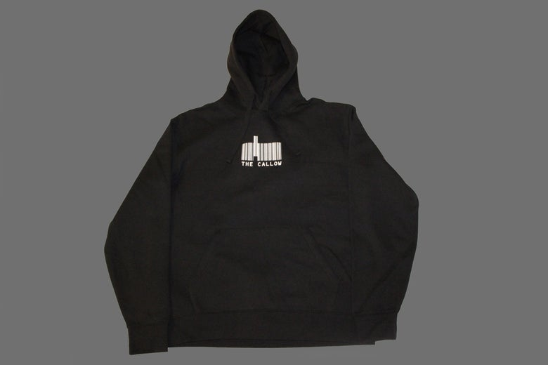 Image of Bar Logo Hoodie Black