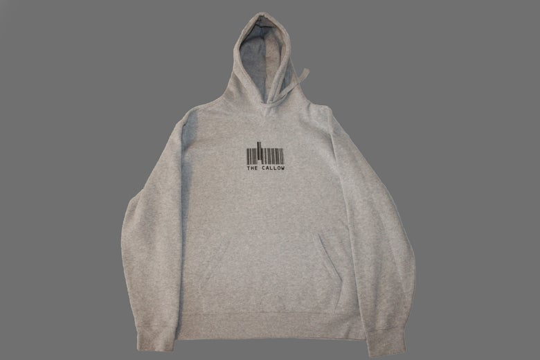 Image of Bar Logo Hoodie Grey