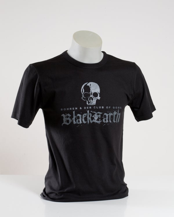 Image of Black Earth (T-Shirt, Print grey on black)