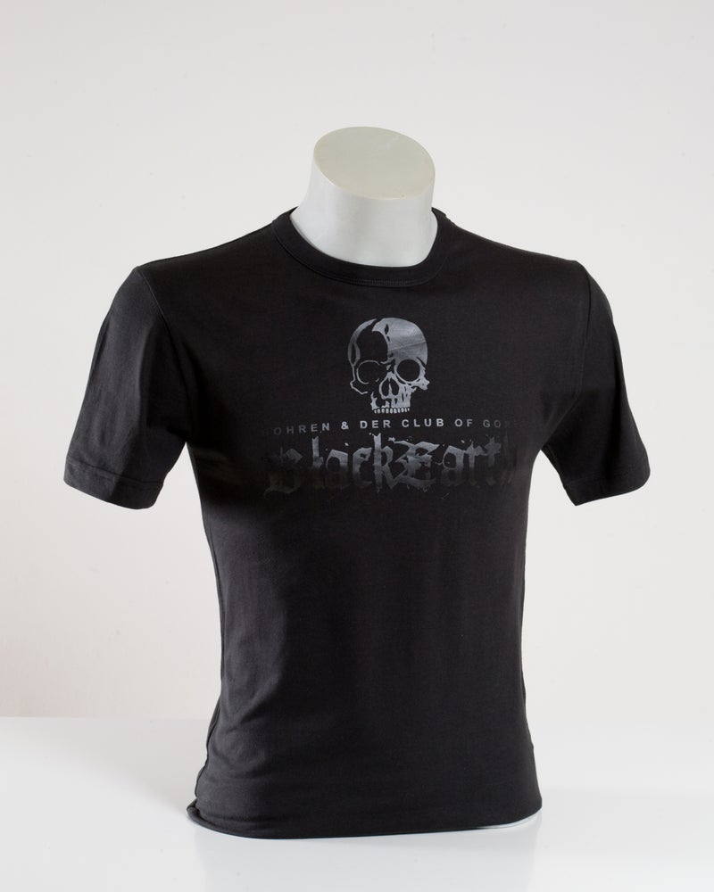 Image of Black Earth (T-Shirt, Print black on black)