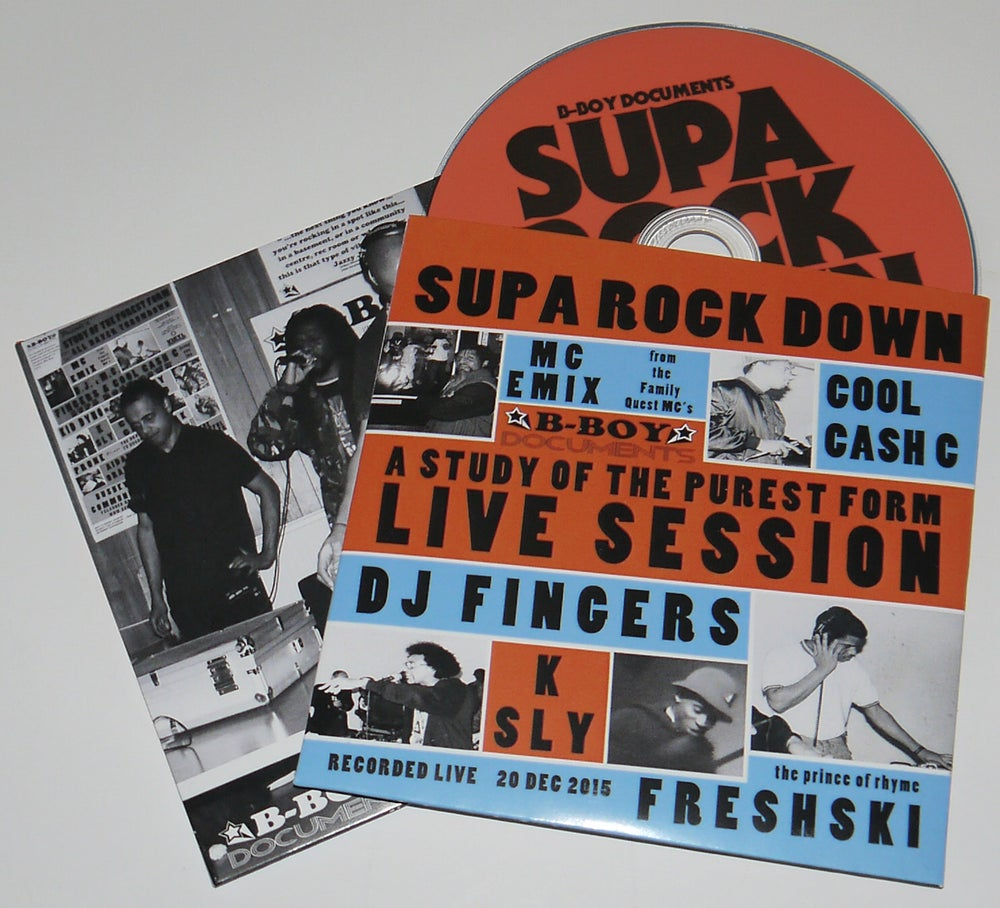 "Image of Supa Rock Down CD: ""A STUDY OF THE PUREST FORM"""