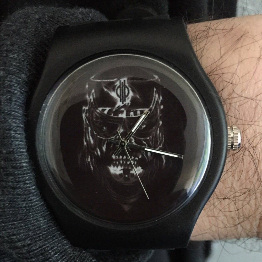 Image of PRE-ORDER: Watch - Cero Miedo x Rockets Are Red LIMITED TO 100 WATCHES