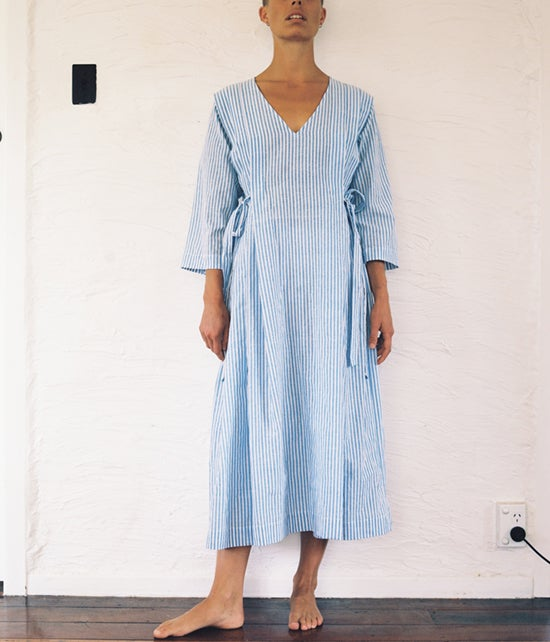 Image of Handwoven Cotton Summer Dress