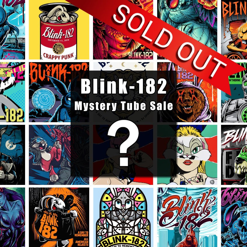 Image of Blink-182 Mystery Tube - 1 Poster