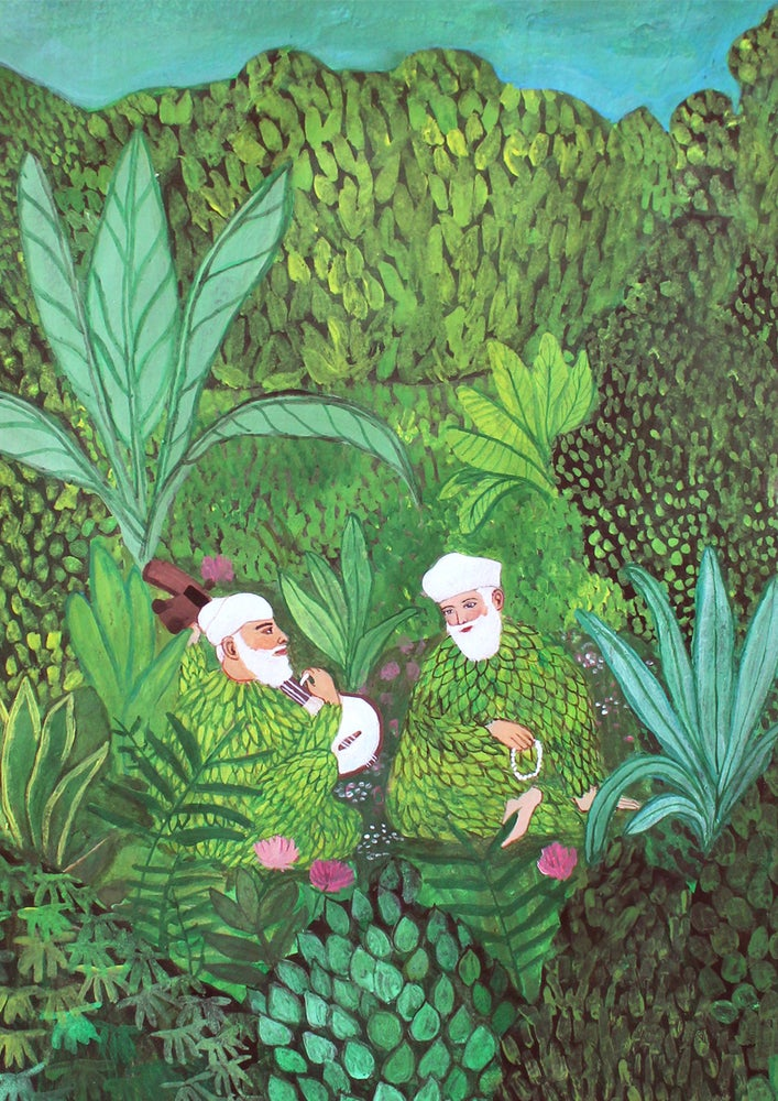Image of Fine Art Print - The Jungle Music and I - A4