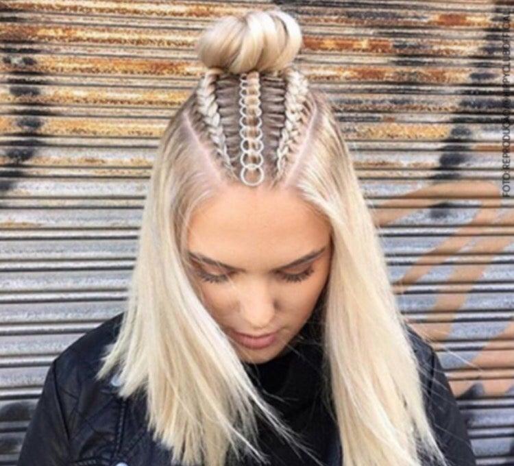Image of 10 Piece Hair Rings