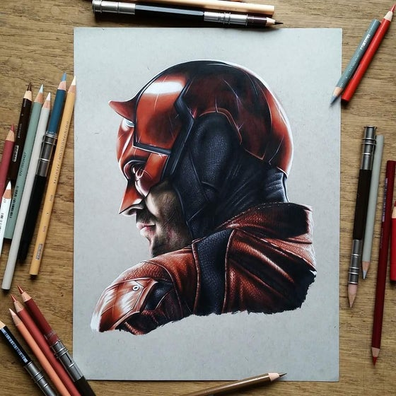 Image of Limited edition Daredevil.