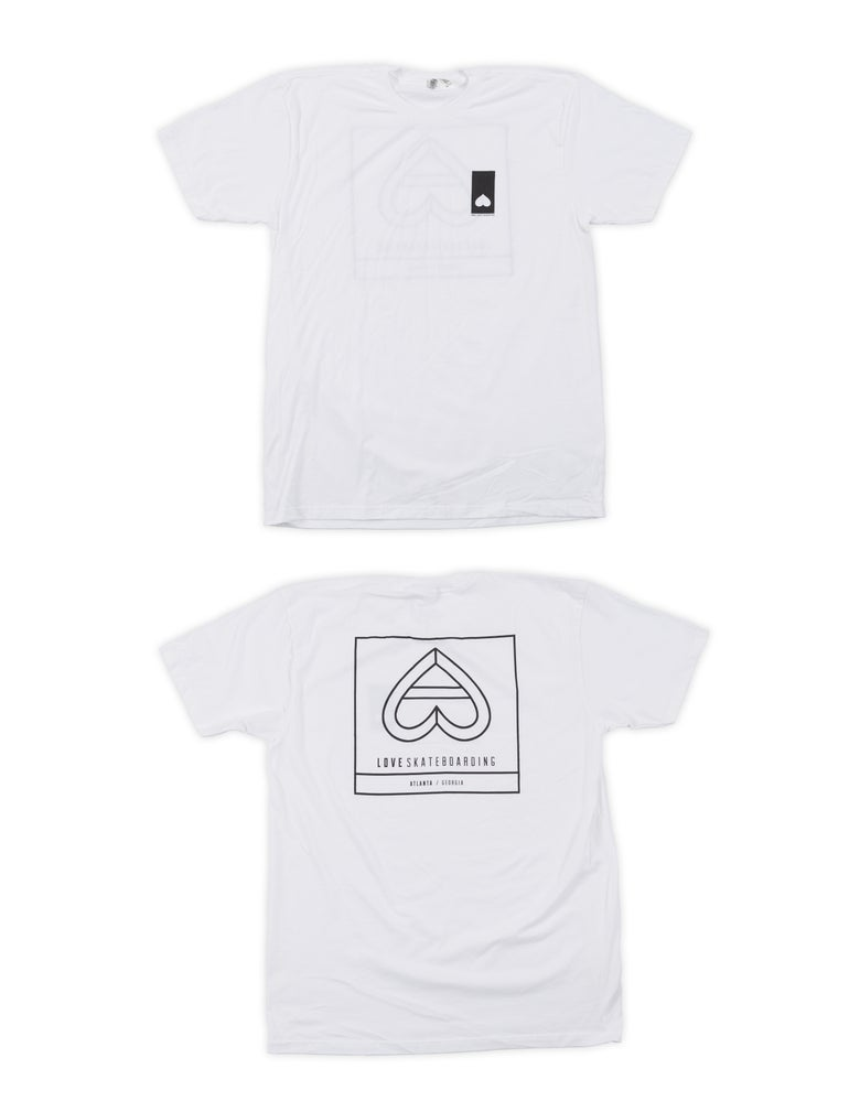 Image of OUTLINE HEART BOX LOGO