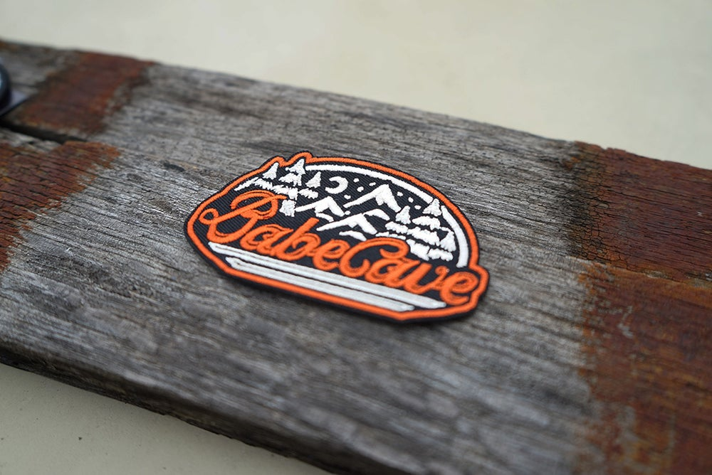 Image of Babe Cave 'Adventure' Patch