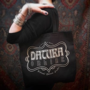 "Image of Datura Online ""Datura Deco"" Tote Bag"