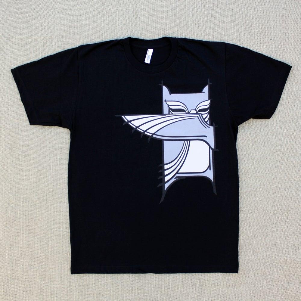 Image of Bandit Owl - Black Outline / Shirt